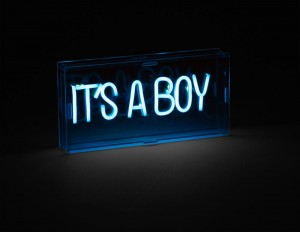 Childhome Lampka Neon It's A Boy299
